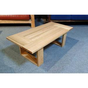 安心国産 レッドオーク・オイル仕上 Shawood1000リビングテーブル W1000×D500×H350|ekaguya