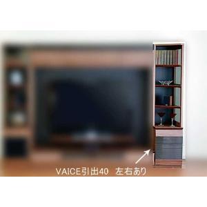 ウォールナット VAICE ヴァイス 引出40RN  W402×D556×H1750 大川製|ekaguya