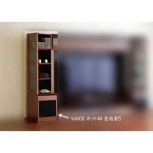 ウォールナット VAICE ヴァイス ネット40RN  W402×D556×H1750 大川製|ekaguya