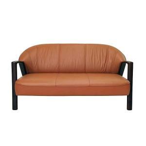 コンパクトサイズ 厳選国産 Vigor 3P ビガー 三人用 ソファー 革張り W1580×D780×H780×SH420 革色・木部色が選べる 受注生産|ekaguya
