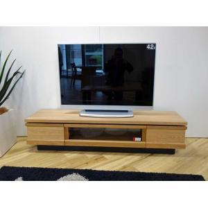 ホワイトオーク材 ZIO150TVナチュラル ジオ150TV ON色 W1500×D445×H355 家具産地大川製|ekaguya