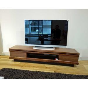 ウォールナット材 ZIO150TVブラウン ジオ150TV RN色 W1500×D445×H355 家具産地大川製|ekaguya
