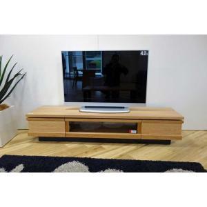 ホワイトオーク材 ZIO180TVナチュラル ジオ180TV ON色 W1800×D445×H355 家具産地大川製|ekaguya