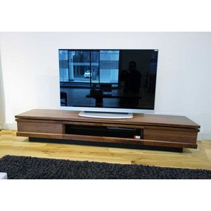ウォールナット材 ZIO210TVブラウン ジオ210TV RN色 W2100×D445×H355 家具産地大川製|ekaguya