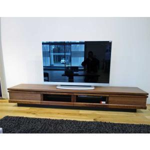 ウォールナット材 ZIO240TVブラウン ジオ240TV RN色 W2400×D445×H355 家具産地大川製|ekaguya