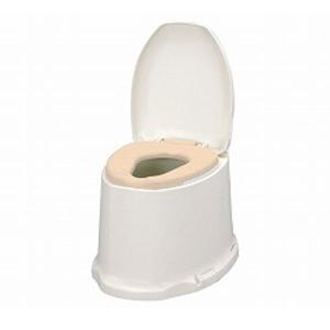 アロン化成 安寿 サニタリエース SD据置式 ソフト便座 ノーマルタイプ  533-473 (和式トイレを洋式に 簡易トイレ 介護 トイレ 便座 便座クッション) 介護用品 ekaigonavi