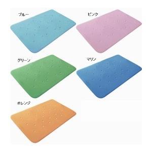 ウェルファン トライタッチLサイズ 38×70cm(入浴用品 すべり止めマット お風呂用マット) 介護用品|ekaigonavi