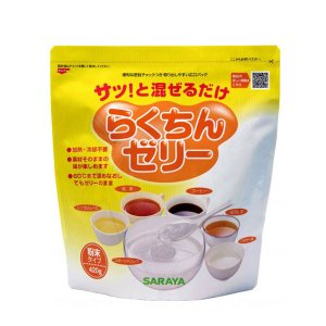 らくちんゼリー 420g サラヤ (とろみ剤 介護食 食品 水分補給) 介護用品|ekaigonavi