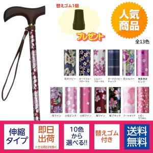 夢ライフステッキ 柄杖伸縮型 スリムタイプ 9714 ウェルファン (ステッキ 杖 つえ) 介護用品|ekaigonavi