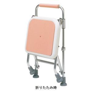 アルミ製シャワーチェア 折りたたみ式  TY543F-P 日進医療器(入浴いす 折りたたみ式) 介護用品 ekaigonavi 02
