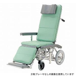 (代引き不可) カワムラサイクル フルリクライニング車いす RR70NB 介助式 介助ブレーキ付 (RRシリーズ 簡易ストレッチャー 大型枕) 介護用品|ekaigonavi