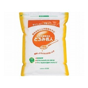 とろみ名人  58004 1.8kg  サラヤ (とろみ剤 とろみ 介護食 食品) 介護用品|ekaigonavi