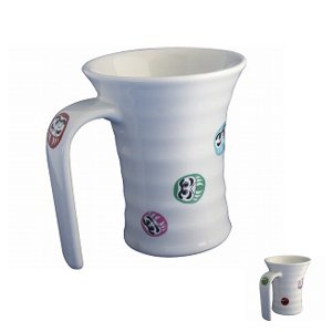 (ソフトバンクユーザーポイント15倍)ヤマトク スワローカップ(有田焼)(256522)  介護用品|ekaigonavi