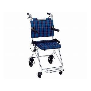 (代引き不可)マキライフテック コンパクト介助車カルティ NP-200NC(介助式車椅子 コンパクト 超軽量)  介護用品
