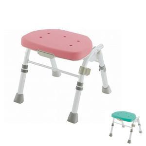 リッチェル 折りたたみシャワーチェア M型 背なし 47741 47746 (コンパクト 入浴用品 お風呂用椅子 入浴用いす)  介護用品|ekaigonavi