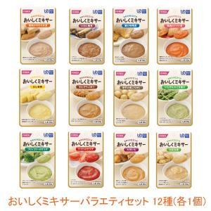 ホリカフーズ 介護食 区分4 おいしくミキサー バラエティセット 12種 ホリカフーズ  (区分4 かまなくて良い) 介護用品|ekaigonavi