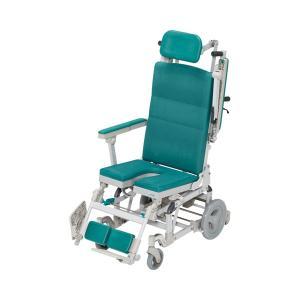 (代引き不可) はいねーる U型シート HN-012 ウチヱ (お風呂 椅子 浴用 リクライニング シャワーキャリー) 介護用品|ekaigonavi