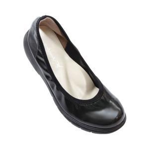 ラックラック空飛ぶパンプス エナメル GS-0229 婦人用 (超軽量 婦人靴 シューズ) 介護用品 ekaigonavi