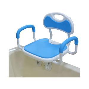 回転バスボード 極楽 BBK-002 ユニトレンド (介護 風呂 椅子 入浴補助) 介護用品|ekaigonavi