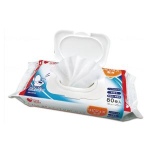 トイレに流せるスッキリおしりふき 72002 80枚 オオサキメディカル 介護用品 ekaigoshop2