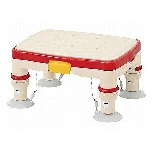 アロン化成 安寿 高さ調節付浴槽台Rミニ 536-483 536-484 (滑り止めシート) (入浴用踏台 浴槽内いす 介護 用 踏み台 入浴用品)