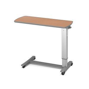 (代引き不可)パラマウント ベッドサイドテーブル / KF-1960 チェリー(ガススプリング式 ベッドテーブル 介護)(日・祝日配達不可 時間指定不可)|ekaigoshop2
