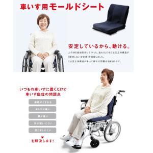 (代引き不可)車椅子用クッション モールドシート PAS-MSW-002 ピーエーエス (車椅子クッション 座位保持 腰痛対策 姿勢 体幹 ポジショニング) 介護用品 ekaigoshop2 02