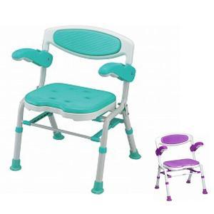 シャワーチェア 介護用風呂椅子 島製作所 折りたたみシャワーチェアー 楽湯DX  7250入浴用椅子 お風呂イス 介護用品 折りたたみ 介護用品|ekaigoshop