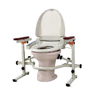 洋式トイレ手すり といれって(ステンレス) 肘掛スライド式 TS-SW ウェルファン 介護用品