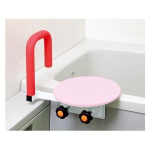●座面がゆっくり回転してスムーズに浴槽へ入れます ●回転盤がアルミ製で浴槽縁からの高さがあまり変わら...