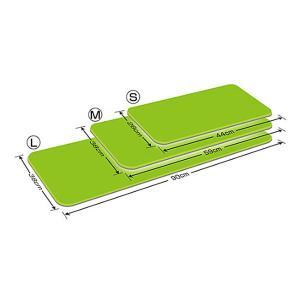 ダイヤストップマットL (90×38×0.5cm) シンエイテクノ (消臭 抗菌 遠赤外線 すべり止め) 介護用品|ekaigoshop