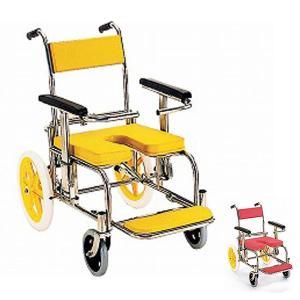 ・サイズの違う前後車輪で段差もラク。背面が前後可動で背中も洗いやすい。 ・介助しやすく、洗いやすい、...