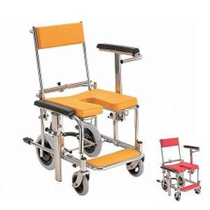 (代引き不可)入浴・シャワー用車いす 標準 KS3 カワムラサイクル(お風呂 椅子 浴用椅子 シャワーキャリー 背付き 介護 椅子) 介護用品