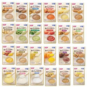 ホリカフーズ 介護食 区分4 おいしくミキサー 24種類セット (区分4 かまなくて良い) 介護用品