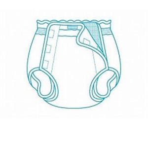 (代引き不可)オープン型おむつカバー 18-01014 LL モナーテメディカル 介護用品
