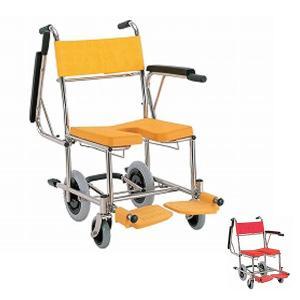 (代引き不可) 【時間帯指定不可】入浴・シャワー用車いす KS4 カワムラサイクル (お風呂 椅子 浴用椅子 シャワーキャリー 背付き 介護 椅子) 介護用品