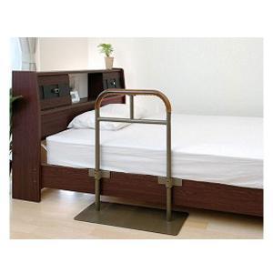 ベッド用手すり しんすけST 48140 リッチェル (介護用品 福祉用具 ベッド ベット 寝具 てすり  介護用品 福祉用具 ベッド)