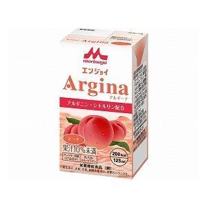 エンジョイArgina (アルギーナ) ピーチ 125mL クリニコ (介護食 食品 ドリンク 栄養 補給) 介護用品