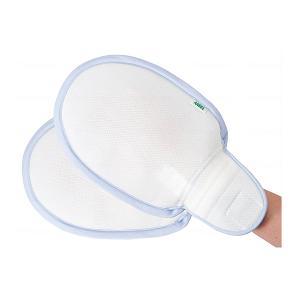 フラット安心ミトン 2個入 1773 エンゼル (介護 手袋 介護用ミトン いたずら防止) 介護用品