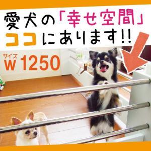 パピーブロック 幅125cm 小型犬用ゲート・柵・仕切り|ekc-webshop