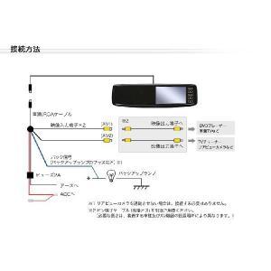 ルームミラーモニター(バックミラーモニター) 4.3インチ|ekisyououkoku|04