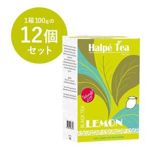 倍々ストア +10% 25日限定 Halpe Tea レモン・ブラックティー(リーフ) 100g×1...