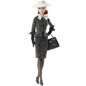 バービーファッション・モデル・コレクション/ブラック&ホワイト ツィードスーツ バービー/マテル MATTEL|ekodanosanzoku