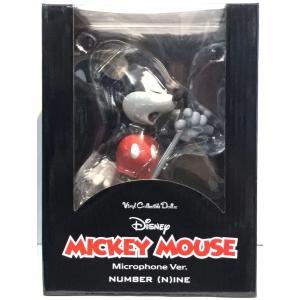 VCD ミッキーマウス Microphone Ver. マイクロフォン バージョン/ヴァイナルコレクティブルドールズ/メディコム トイ|ekodanosanzoku