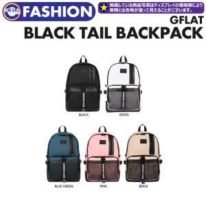 【取寄商品】【 GFLAT Gフラット BLACK TAIL BACKPACK 】  GFLAT 公式商品 正規品 韓国ファッション リュック|ekorea-y