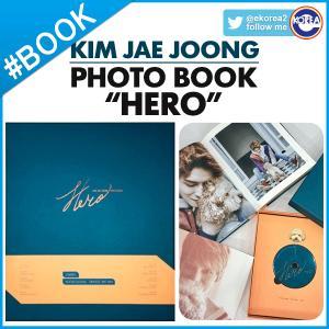 """【即日発送】【 JYJ キム ジェジュン KIM JAE JOONG / PHOTO BOOK """"HERO"""" 】 JYJ ジェジュン 写真集 ekorea-y"""