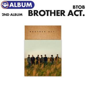【即日発送、ポスターなしで格安】【 BTOB 正規2集アルバム Brother Act.】 BTOB 2nd Album  必ず、韓国チャート反映|ekorea-y