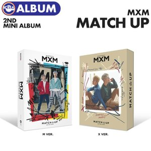 【ポスターなしで格安、即日発送】【 バージョン選択可 /  MXM (BRANDNEW BOYS) 2nd MINI ALBUM  MATCH UP 】 MXM 2集 ミニアルバム  必ず、韓国チャート反映 ekorea-y