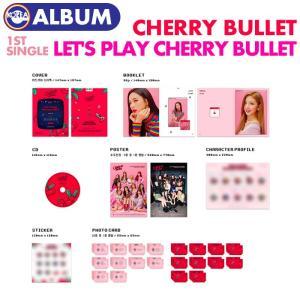 【初回限定ポスター(丸めて)付、即日発送】【 CHERRY BULLET シングル1集アルバム LET'S PLAY CHERRY BULLET  】 チェリブレ CD  必ず、韓国チャート反映 ekorea-y
