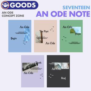 【数量限定1次予約】【 SEVENTEEN ノート 】 An Ode CONCEPT ZONE セブンティーン セブチ 公式グッズ|ekorea-y